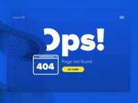 404 Page — Daily UI #008