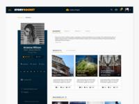 StoryRocket - My Profile Page