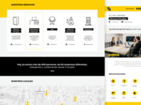 Comunal Coworking - Web Design