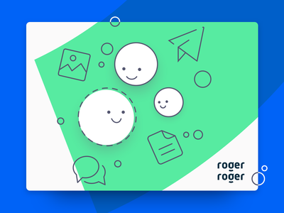 RogerRoger illustration concept illustration branding