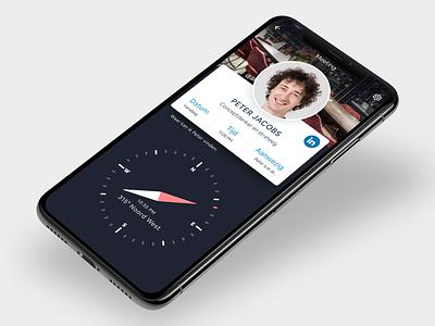 Meeting app concept meeting app ui