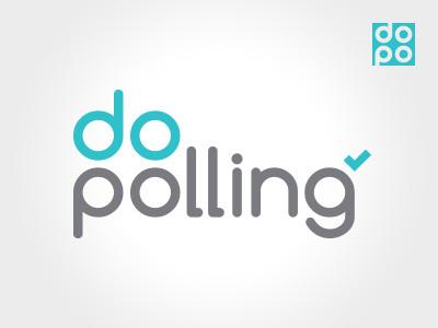 Do Polling App Logo app logo product logo identity logo