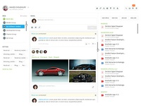 Dashboard for a Web App