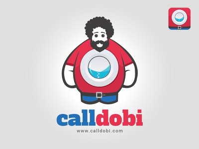 Logo design for a Laundry App washing machine laundry app icon app identity logo