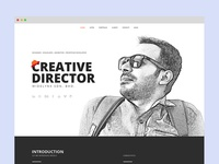 New look of my portfolio site