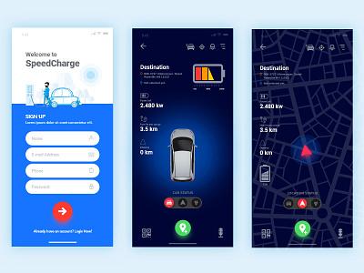 Product Design for Mobile App adobe xd uxi uxr ui ux