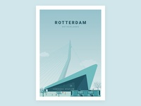 Illustration - Beautiful city Rotterdam