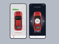 MyCar Controls ReDesign UI Concept