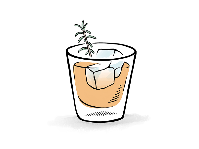 Cocktail dribbble