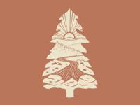 Pine Tree Vignette