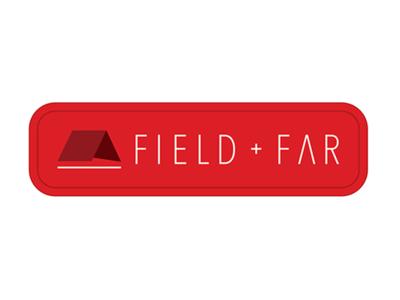 Field + Far patch brand colorado mountains tent adventure wilderness far field