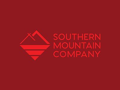 Southern Mountain Company river tent logo shop design adventure wilderness colorado brand company mountain southern