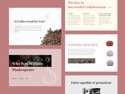 Typography exploration page design page layout landing page best shot mockups typographic layout design webpage webpagedesign letter typo letters layoutdesign layouts typogaphy