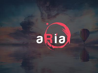 aRia Minimalist Letter Logo letter logo minimalist logo design modern logo minimal illustration typography graphic design branding creative logo minimalist logo