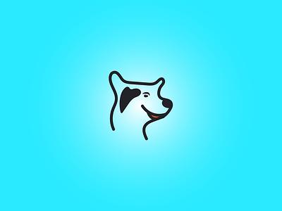 Dog Smile Love Logo dog food animals logo digital dog dog designer doggy dog training dog art dribbble dog lovers dog lover pet lover pet drawing design cute logo dog smile cat logo dog logo