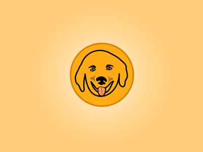 Dog Smile Logo illustration branding concept dog designer paw logo dog paw dog in hat dog icon dog smile dog illustration love of dog doggy dog art puppy dogs pet logo dog care dog logo