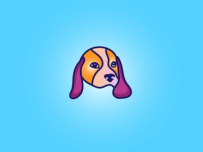 Dog Logo Design vector branding graphic design minimalist logo modern logo dogs usa dog lover puppy dog park dog k9 logo doggy dog care dog portrait cat lgoo pets logo pet breeder dog breeder dog logo