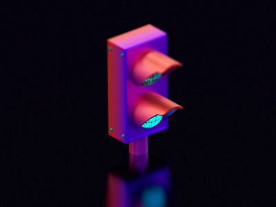 F - Forward |  | 36DaysofType art direction modelling render 36daysoftype typography animation b3d 3d