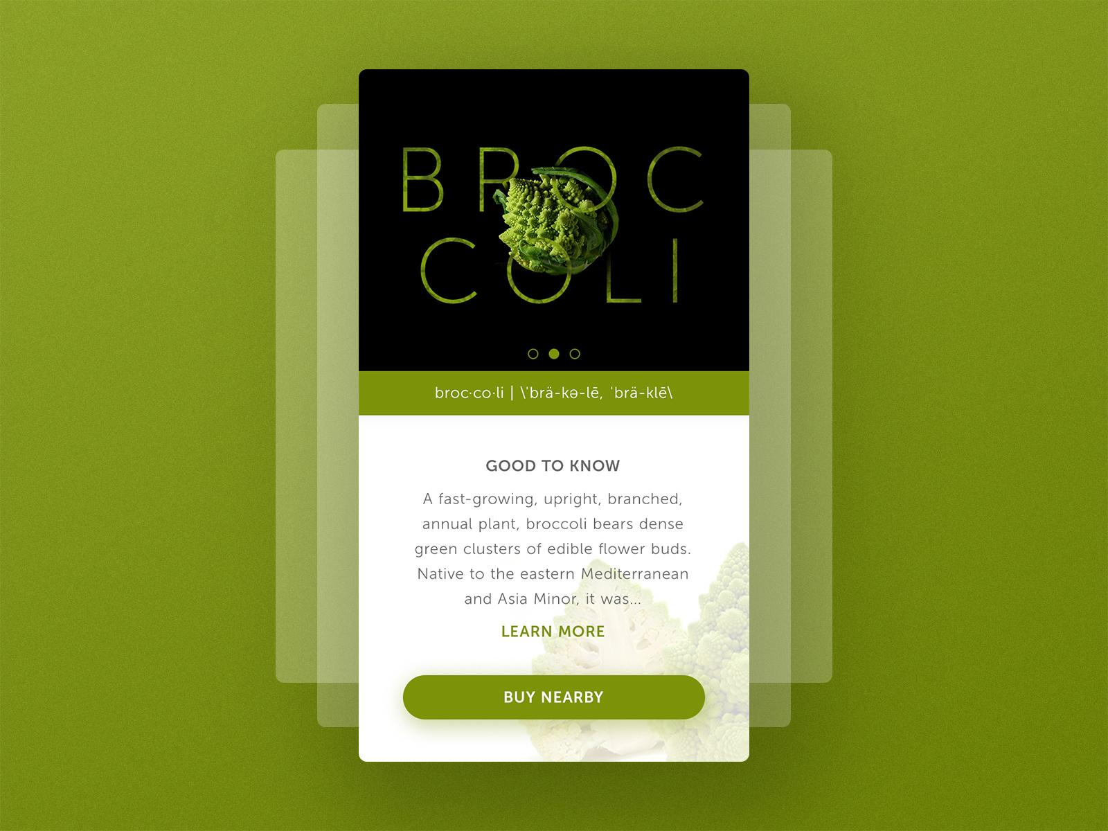 Broccoli profile l