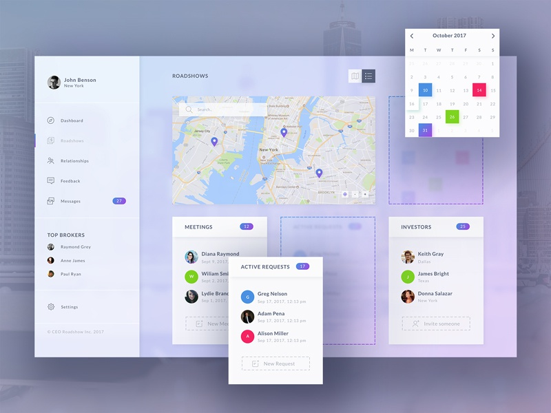 Product Ui Design - Dashboard interface design app web startup saas ux ui product