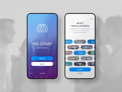 Intro Mobile App UI