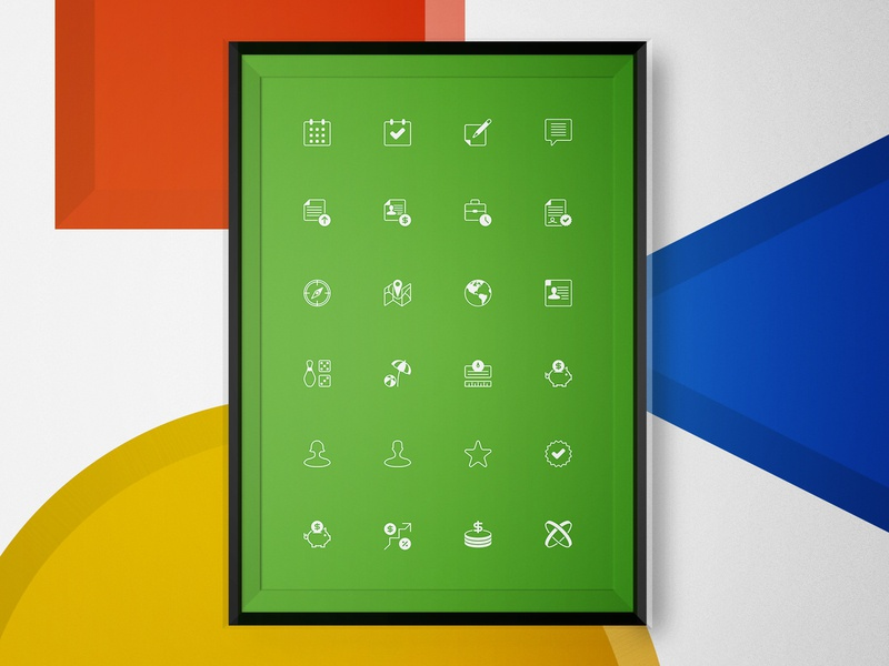 Icons Set Design graphic  design ipad iconography flat icon branding vector logo illustration creative visual clean art direction interface ui design