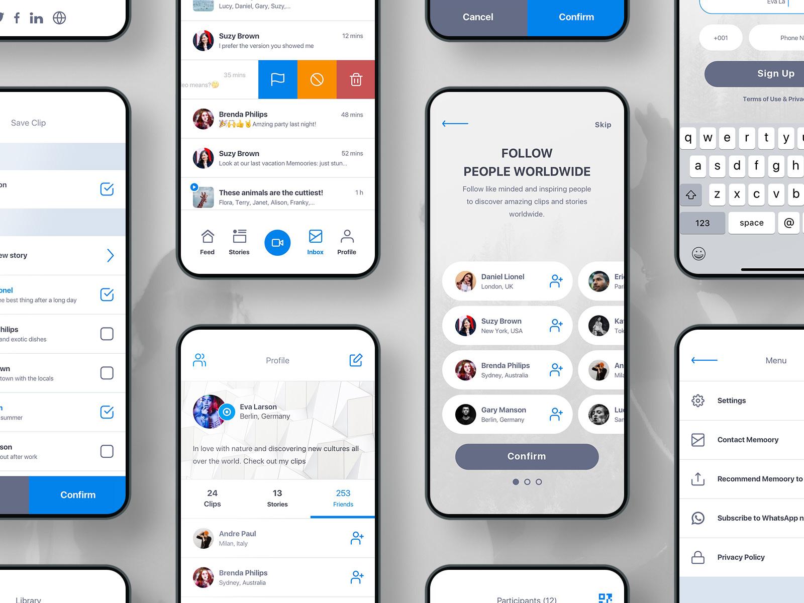 Mobile app set 9 l