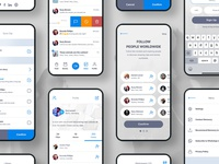 Content Creation Mobile UX/UI