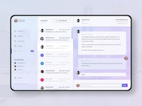 Web App Messaging UI