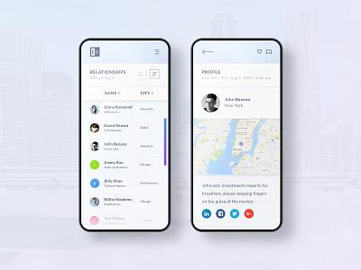 Mobile UX/UI Design product branding digital art visual clean art direction design ui ux interactive interface mobile app app mobile creative