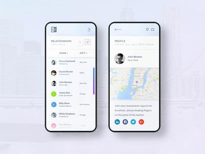 Mobile UX/UI Design