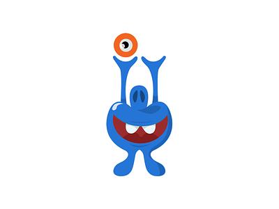 Reach for the Sky character eyeball monster