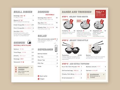 Tomo Tomo menu restaurant menu restaurant menu noodles tsukemen ramen
