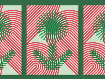 Posters for Parks 2020 parks minneapolis pine flower geometric vector plant illustration overprint poster