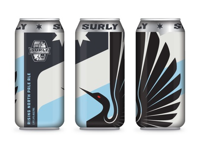 What it could have been football soccer minnesota star brewery can loon. beer united minneapolis surly brewing