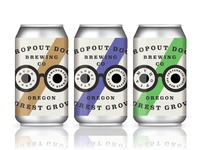 Drop Out Docs Brewing Crowlers