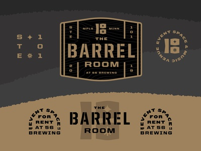 The room where you put barrels