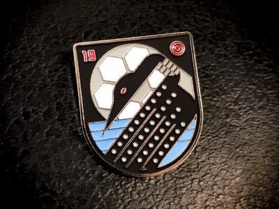 MNUFC x Target No. 2 bird illustration vector target football united minnesota soccer loon badge