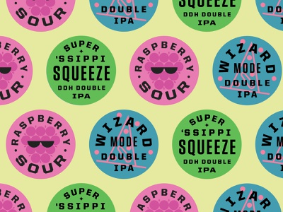 Summer of Even More Beers icon logo minnesota rasberry sour ipa minneapolis brewery beer type lockup badge