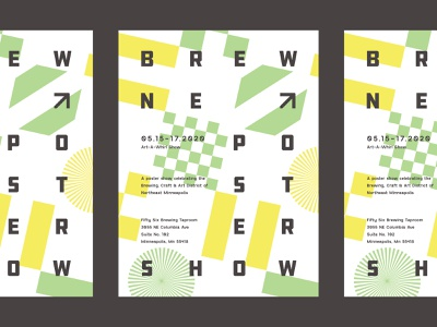 Call for Artists: Brew NE Poster Show minnesota minneapolis brewery art show printing pattern typography call for artists poster