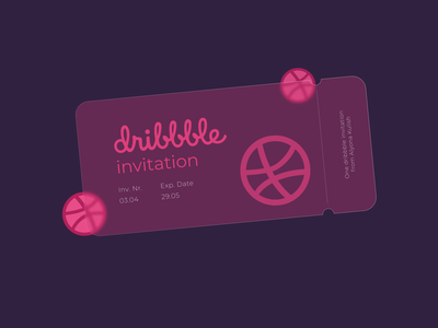 STOP. 1 Dribbble Invite Giveaway ticket invitation dribbble invite invite dribbble