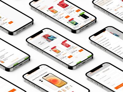 Online store redesign | E-commerce website online uiux figma responsive ecommerce store redesign design web ux ui