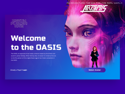 Welcome to the oasis - Sign up