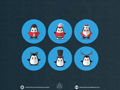 Christmas is NEAR! Christmas Icons Set Preview - Part 13 design graphicdesign vector set happy snowflake cild holiday marrychristmas banner cad santa gift cute colorful green icon character icons
