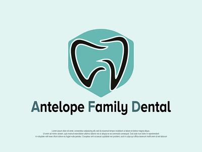 dental+shield illustration branding minimal design logo