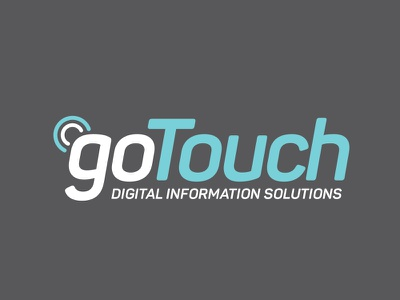 Gotouch Branding Logo Design application free app design touch logo branding