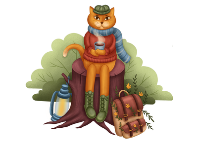 Cat traveler kidlitart kids illustration adventure illustrator digital illustration book illustration children book illustration character development children illustration brand character character design character
