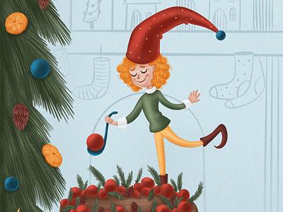 Holiday dish artwork kidlitart kids illustration digital illustration illustration character development character design children book illustration character children illustration