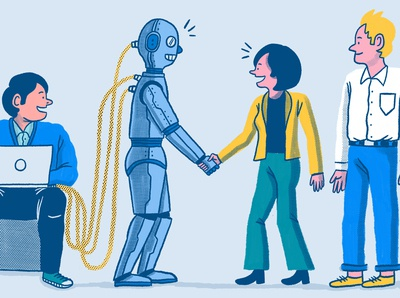 Blog Illustration: How AI assistants help B2B tech companies