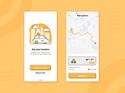 Daily UI #20: Location Tracker illustrator flat minimal illustration web app map location ux ui dailyui